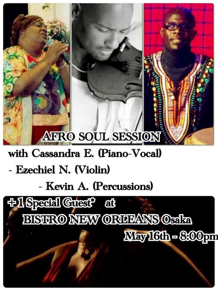 """""""Afro Soul Session"""" Osaka"""