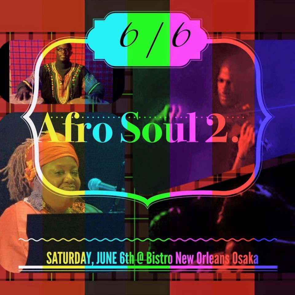 Afro Soul Session 2 Osaka
